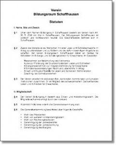 statutenbildungs